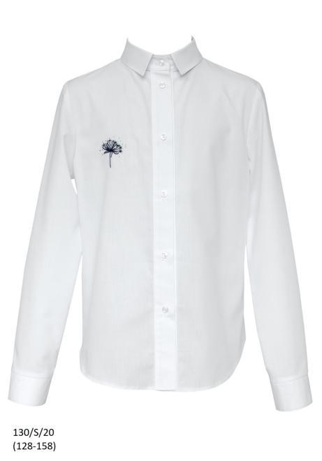 SLY  130/S/20 Блузка Белый оптом
