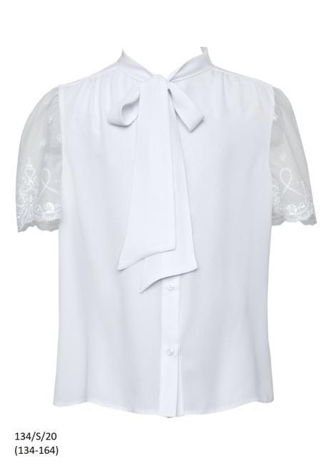SLY  134/S/20 Блузка Белый оптом