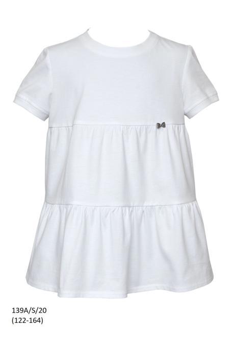 SLY  139A/S/20 Блузка Белый оптом
