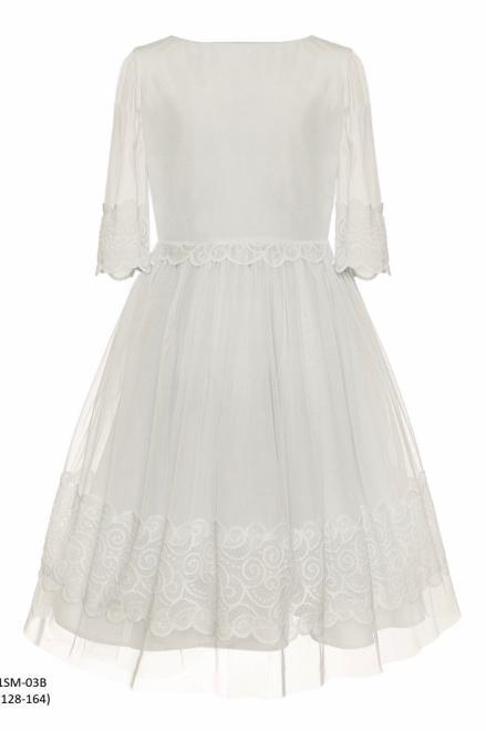 SLY  1SM-03B Платье Экри оптом