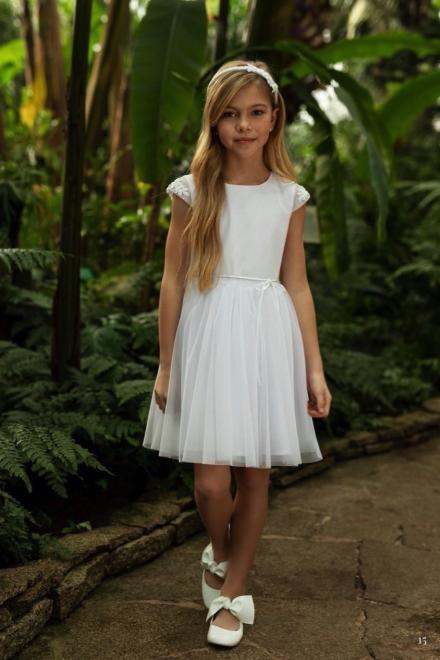 SLY  1SM-04 Платье Белый оптом