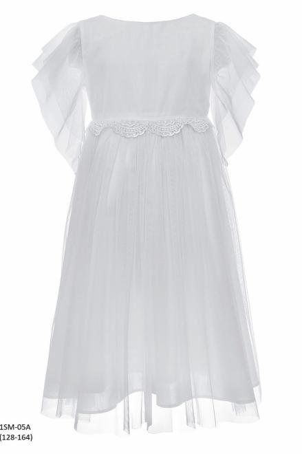 SLY  1SM-05A Платье Белый оптом