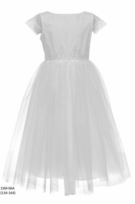 SLY  1SM-06A Платье Белый оптом