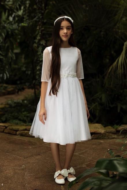 SLY  1SM-07 Платье Белый оптом