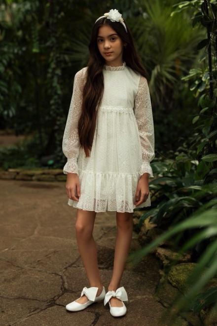 SLY  1SM-10A Платье Экри оптом