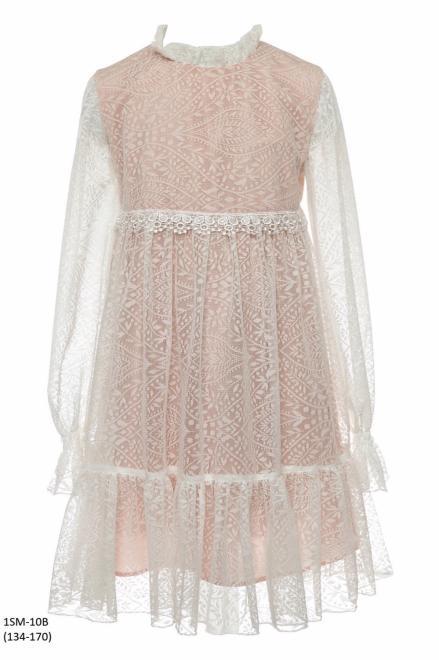 SLY  1SM-10B Платье Розовый оптом
