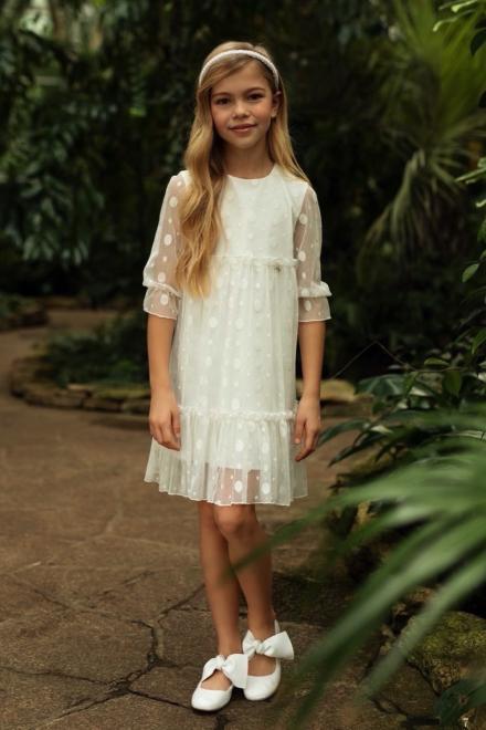 SLY  1SM-11 Платье Экри оптом