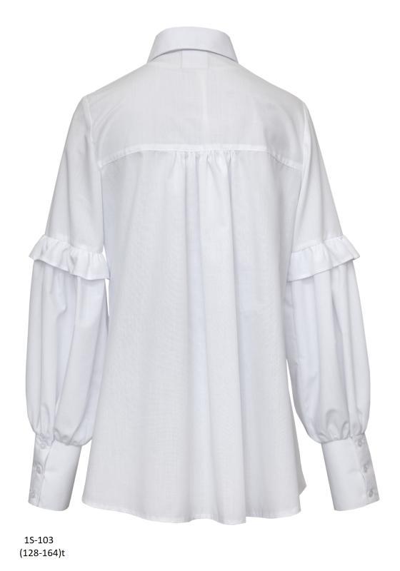 1S-103 Блузка Белый