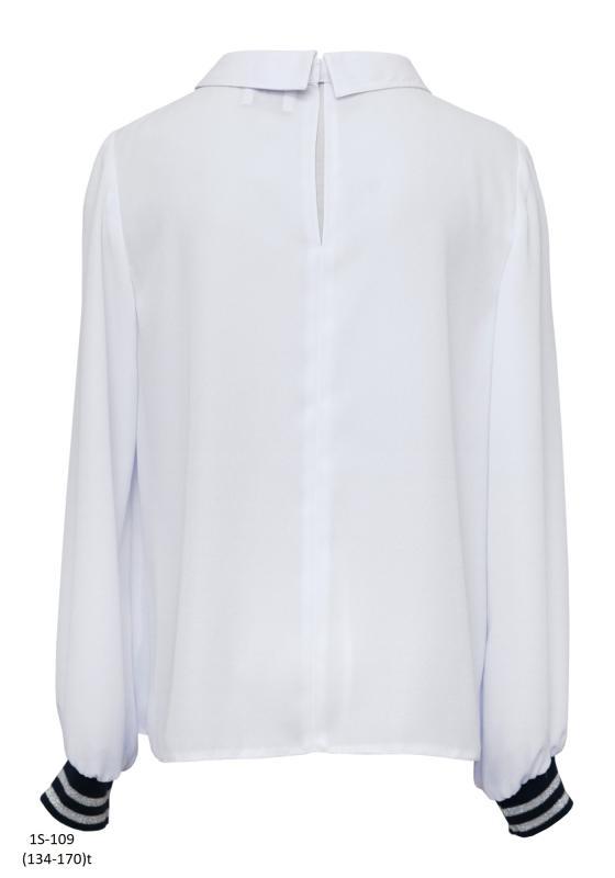1S-109 Блузка Белый