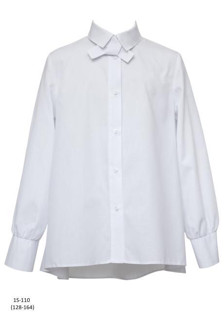 SLY  1S-110 Блузка Белый оптом
