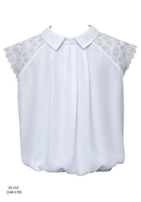 SLY  1S-112 Блузка Белый оптом