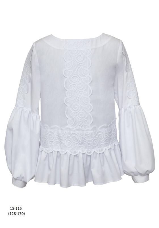 1S-115 Блузка Белый