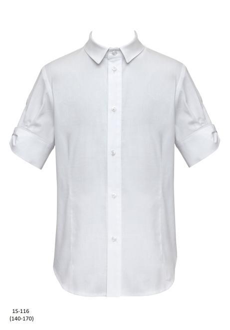 SLY  1S-116 Блузка Белый оптом