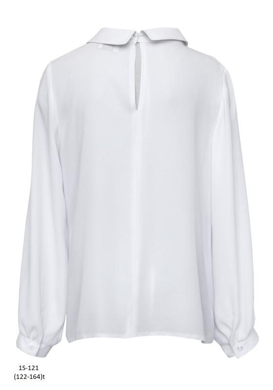 1S-121 Блузка Белый