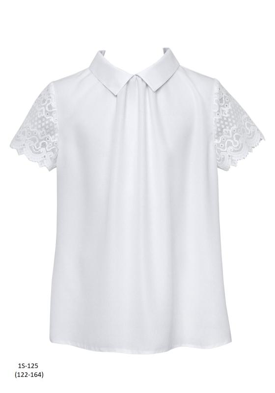 1S-125 Блузка Белый