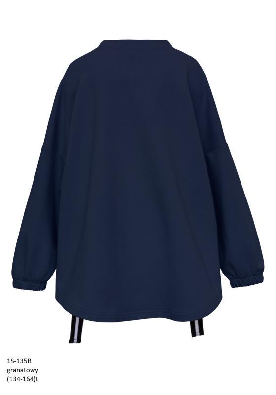 1S-135B Блуза Темносиний