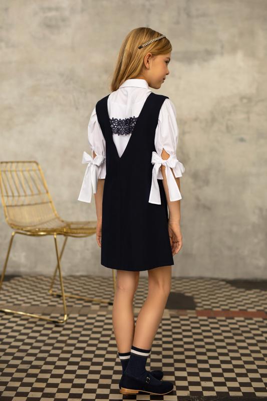 1S-202 Платье Темносиний