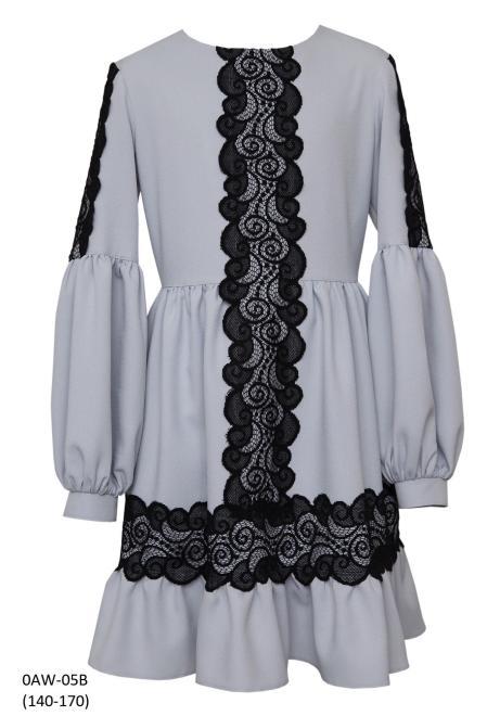 SLY  0AW-05B Платье как на фото оптом