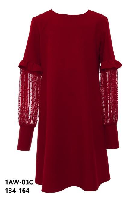 SLY  1AW-03C Платье как на фото оптом