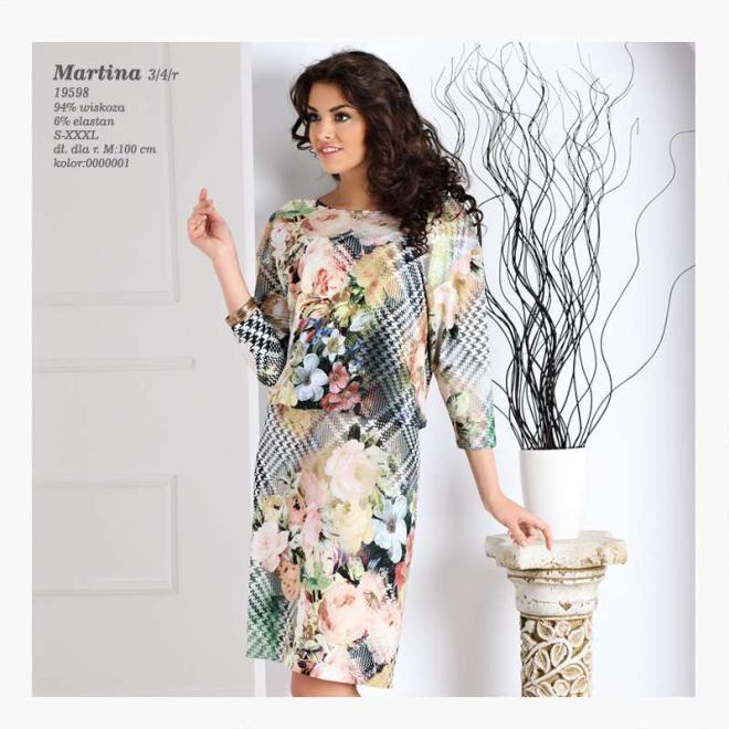 TOPBIS  MARTINA Платье  оптом