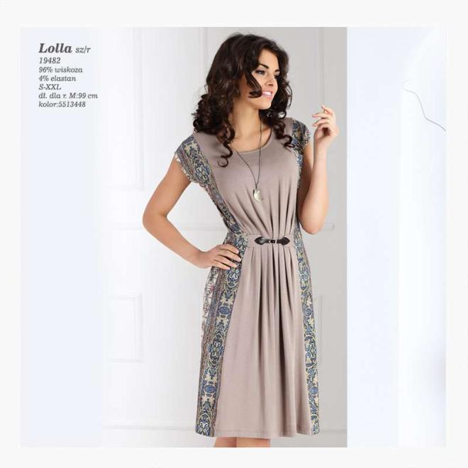 TOPBIS  LOLLA Платье  оптом