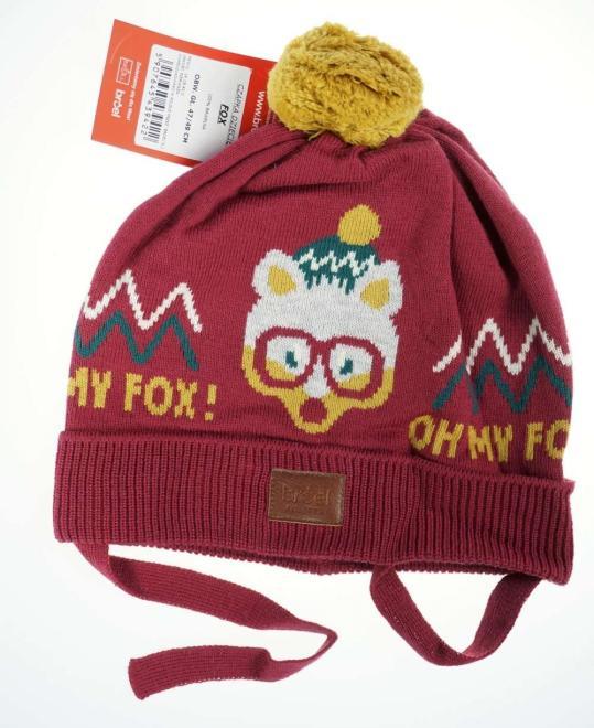 BROEL  FOX шапка Бургунд оптом