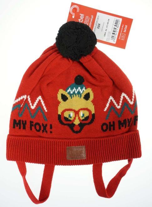 BROEL  FOX шапка Красный оптом