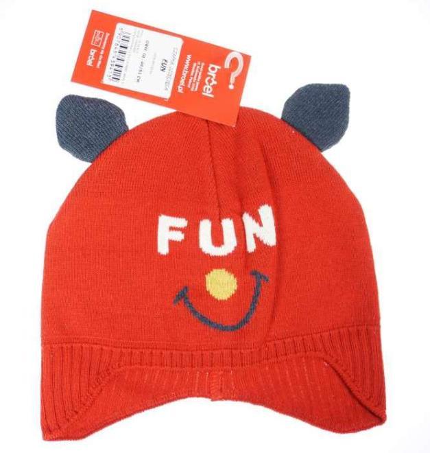 BROEL  FUN шапка Красный оптом