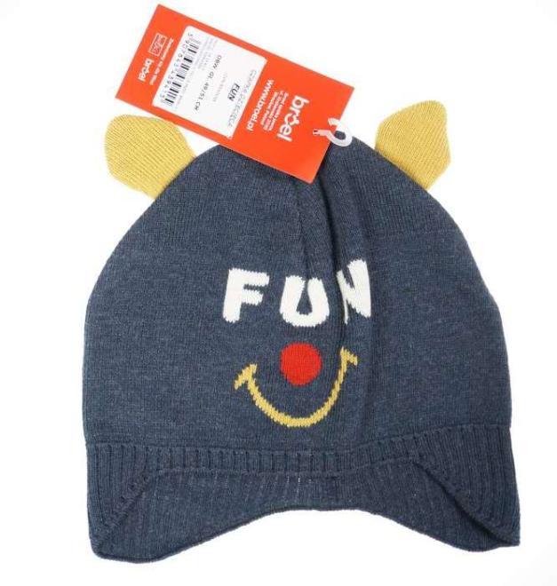 BROEL  FUN шапка Темно-синий оптом