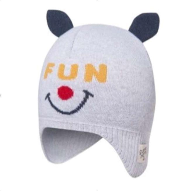 BROEL  FUN шапка Серый оптом