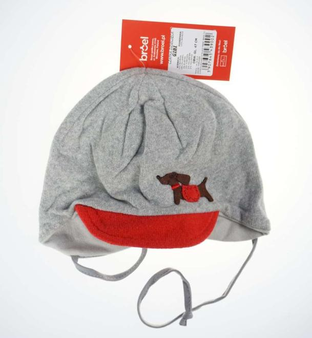 BROEL  GIBI шапка Серый оптом