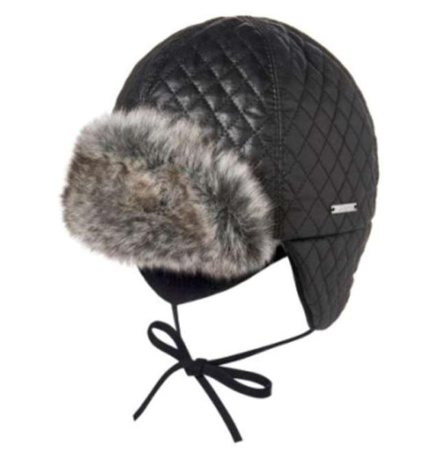 BROEL  LUKE шапка Черный оптом