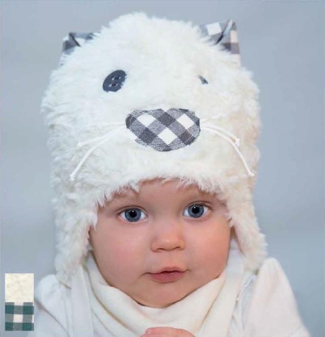 PUPILL  FILON-19 шапка Экри оптом