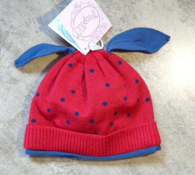 PUPILL  DOT-36 шапка Красный оптом