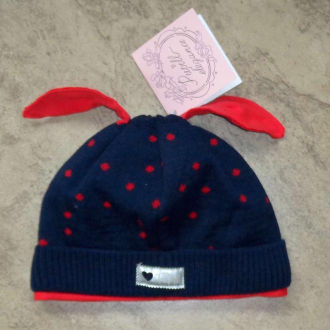 PUPILL  DOT-36 шапка granat-czerwony оптом