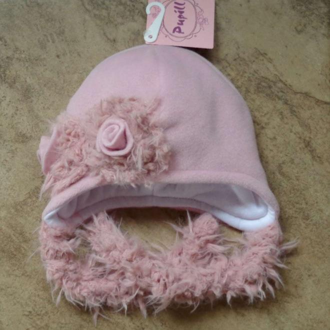 PUPILL  IVET-28 шапка Розовый оптом
