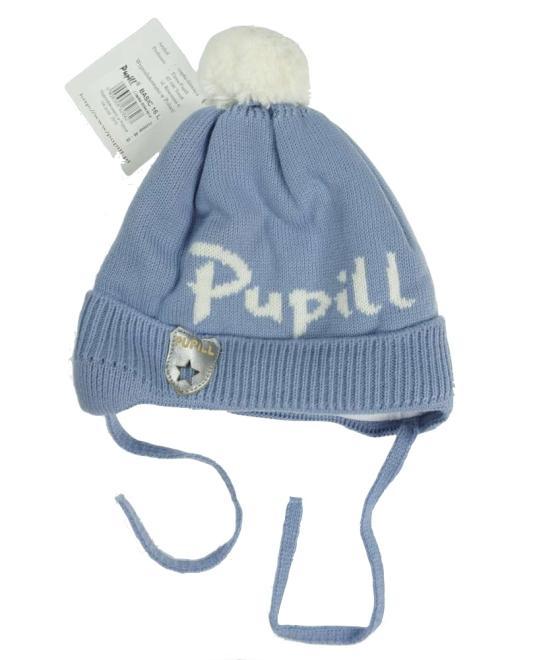 PUPILL  BASIC-16 шапка Голубой оптом
