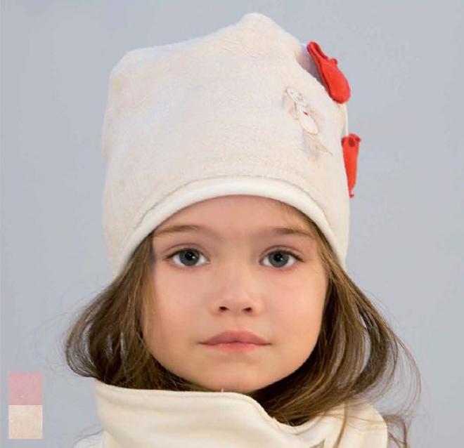 PUPILL  JULIET-35 шапка Экри оптом