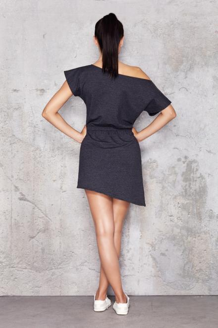 InfiniteYou  M001 Платье Серый оптом
