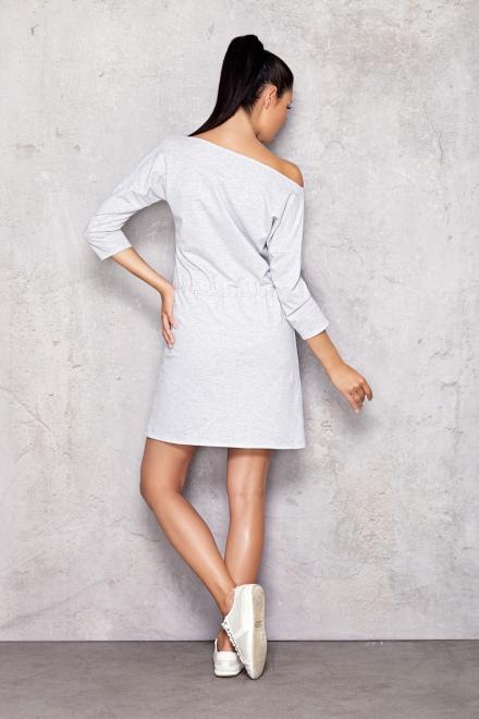 InfiniteYou  M004 Платье Серый оптом