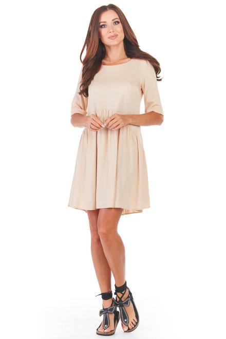 awama  A360 Платье Розовый оптом