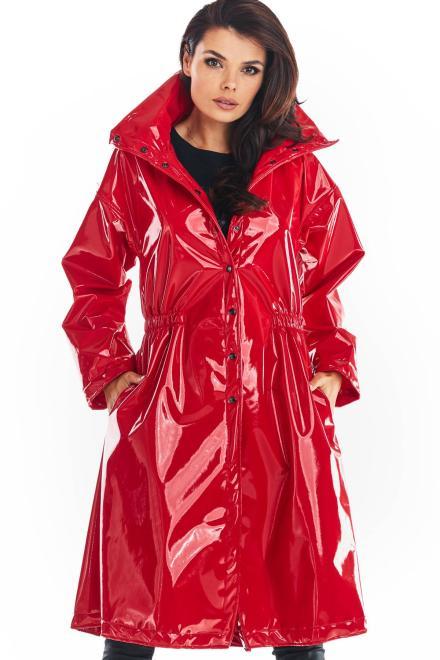 awama  A382 Пальто Czerwony-lateks оптом