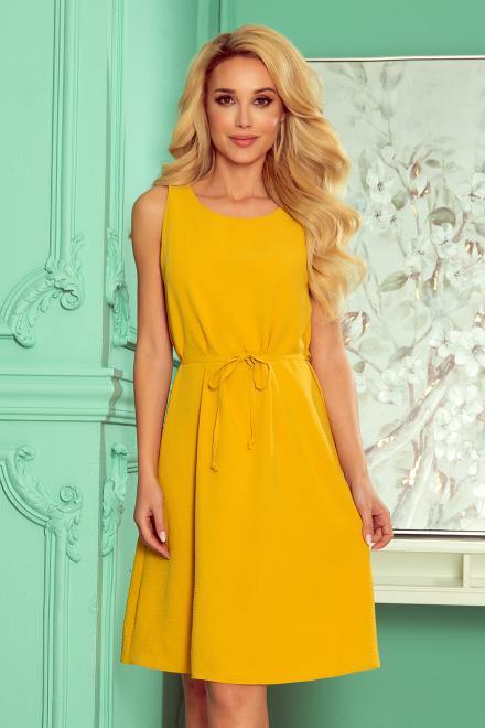 Numoco  296-5 VICTORIA Trapezowa sukienka Платье MIODOWA оптом
