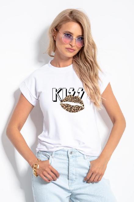 KNITIS  K598 Блузка Белый оптом