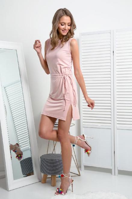 FIMFI  I337 Платье Розовая пудра оптом