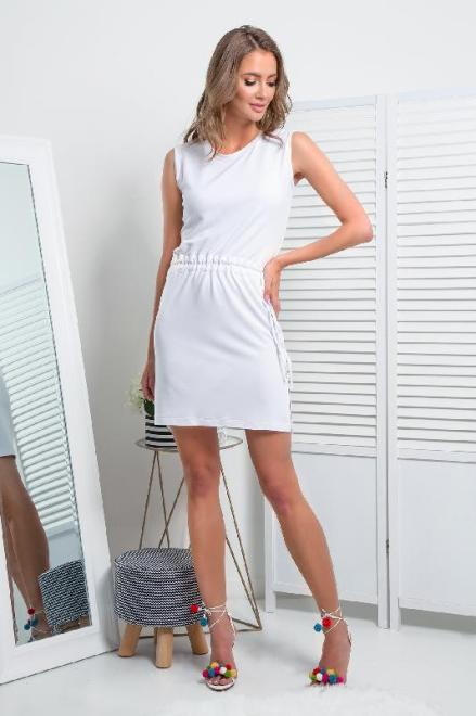 FIMFI  I337 Платье Белый оптом