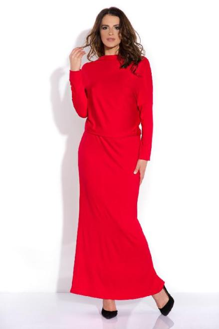 FIMFI  I140 Długa sukienka Красный оптом
