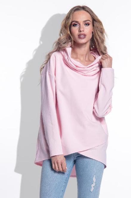 FIMFI  I169 Блуза Розовая пудра оптом