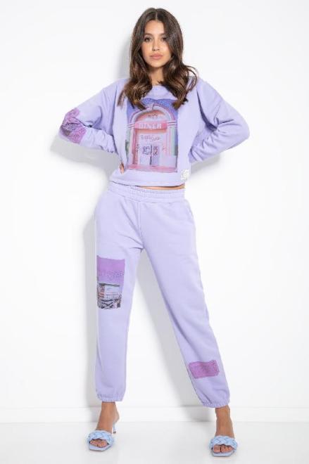 FOBYA  F1148 Комплект Фиолет оптом