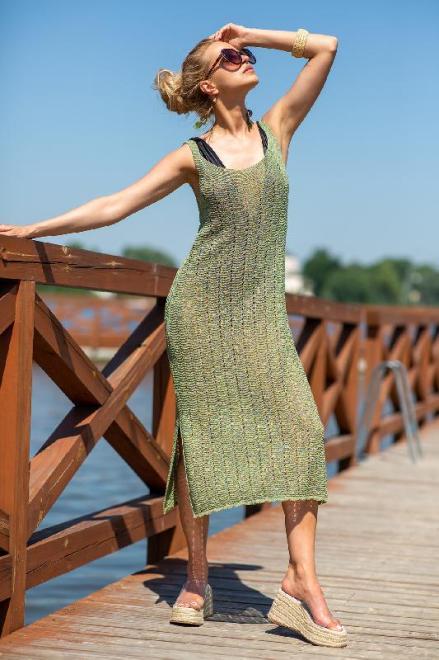 FOBYA  F1254 Платье Peridot оптом